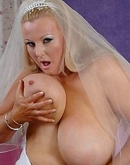 Kirsten's has become a runaway bride... only because her craving for cock has increase tremindiously and she can't settle for just one dick.