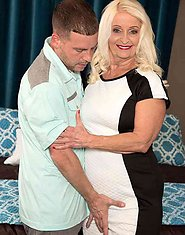 Vikki Vaughn Her daughter just fucked this guy. Now Vikki's going to fuck him. Set 02. 60PlusMILFs  Granny Hardcore
