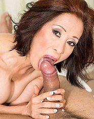 Kim Anh The art of Asian cock massage Set 01. 60PlusMILFs  Granny Hardcore