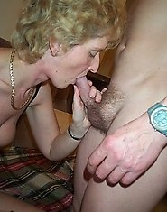 Horny mature couple fucking and sucking like maniacs