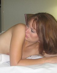 Hot milf sees her hubby to the door aching for a score with a younger lover