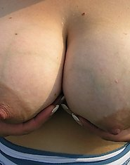 Kinky chunky mom has a pierced twat