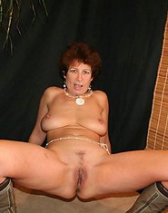 Grandma gets freaky in fishnets