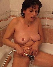 This housewife loves playing and sucking cock