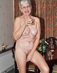 drunk granny gets ass fucked