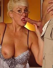 Mammoth mammaries you get lost in horny granny wants it now
