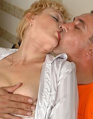 Salacious mom punishes a nylon-crazy guy for getting nasty with her hosiery