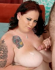 "Chubby Glory Foxxx was outside feeding ducks when a certain ""cock"" showed up she had to feed orally"