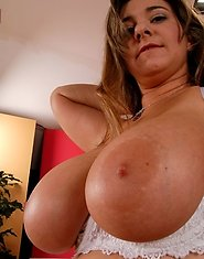 Innocent big titty plumper is ready to get her moist pussy plowed by a young stud